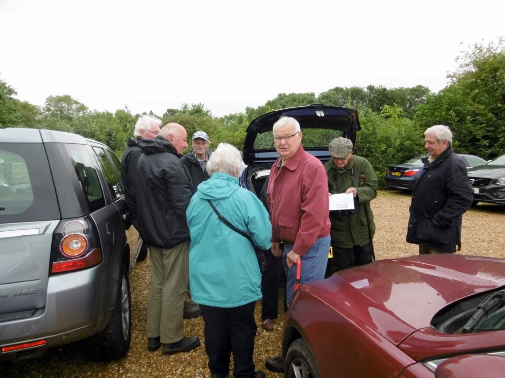 Garden Centre: Stamford U3A Bird Watching Group 2017